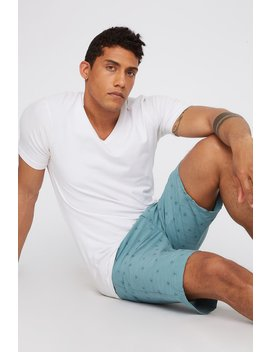 Printed Space Dye Hybrid Quick Dry Short by Urban Planet