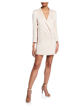 Brody Double Breasted Blazer Dress by Donna Mizani