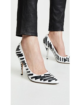 Scribble Pumps by Moschino