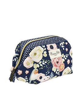 Primrose Hill Roses And Robins Collection Cosmetic Frame Clutch by Primrose Hill