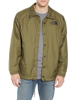 Regular Fit Water Resistant Coach's Jacket by The North Face