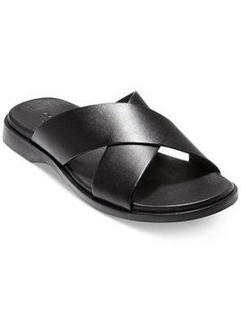 Men's Goldwyn 2.0 Cross Band Slide Sandals by Cole Haan