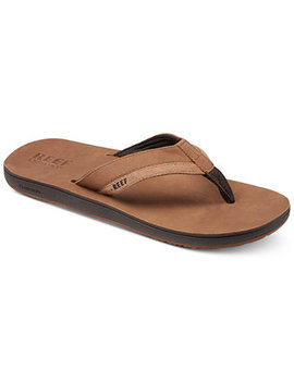 Men's Leather Contour Cushion Sandals by Reef