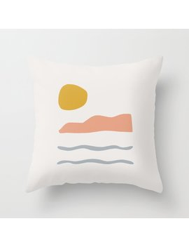 Island Throw Pillow by Society6