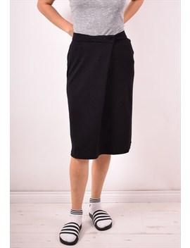 Cerruti 1881 Womens Vintage Skirt W30 Black 90s by Messina Girl