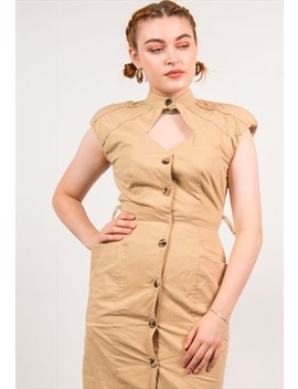 Vintage 80's Midi Dress by The Vintage Scene