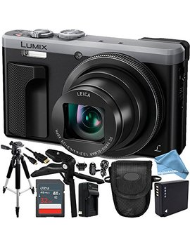 Panasonic Lumix Dmc Zs60 Digital Camera (Silver) 16 Gb Bundle 10 Pc Accessory Kit Includes San Disk 16 Gb Extreme Sdhc Memory Card + Replacement Dmw Blg10 Battery + Ac/Dc Rapid Charger + Digitalandmore by Digitaland More