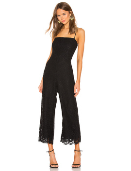 Sienna Lace Jumpsuit by Bardot
