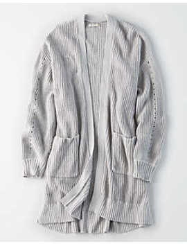 Ae Slouchy Duster Cardigan by American Eagle Outfitters