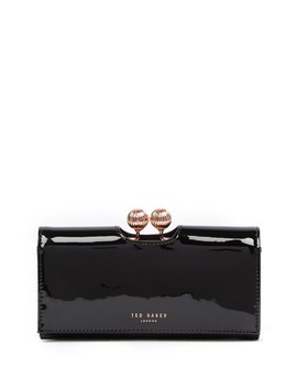 Bobble Patent Leather Wallet by Ted Baker London