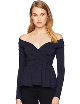 Cross Front Off Shoulder Top by Susana Monaco