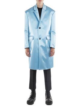 Classic Wool & Silk Overcoat by Raf Simons