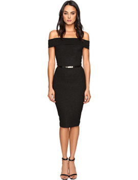 Vindy Bardot Midi Bodycon Dress by Ted Baker