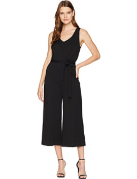 Ponte Sleeveless Jumpsuit by Three Dots