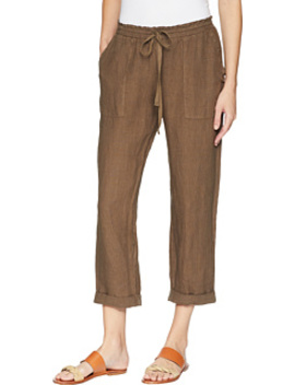 Callie Rolled Linen Pant by Three Dots