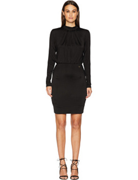 Long Sleeve Cinched Waist Dress by Versace Jeans Couture