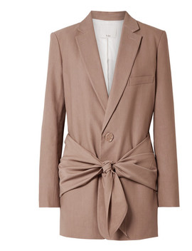 Oversized Twill Blazer by Tibi
