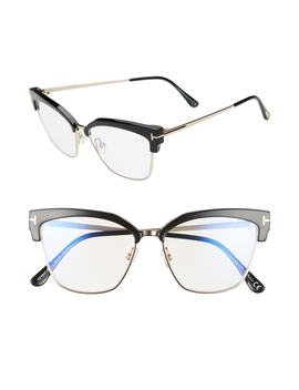 54mm Blue Light Blocking Glasses by Tom Ford