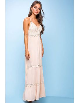 Christine Crochet Maxi Dress by A'gaci