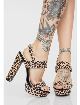 Feline Pretty As Always Platform Heels by Dolls Kill