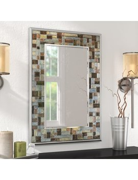 Con Course Tile Accent Wall Mirror by Ebern Designs