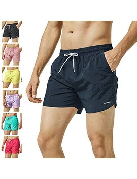 Maa Mgic Mens Short Swim Trunks With Mesh Lining Quick Dry Boy Mens Board Shorts Swim Suit by Maa Mgic
