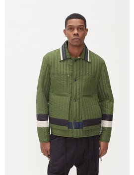 Panelled Quilted Worker Jacket by Craig Green