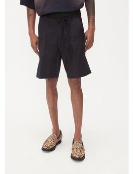 Panko Linen Short by Dries Van Noten