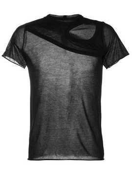 Membrane Woven T Shirt by Rick Owens