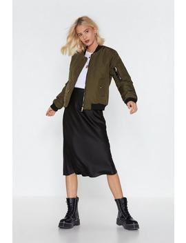 Cover All Bases Bomber Jacket by Nasty Gal