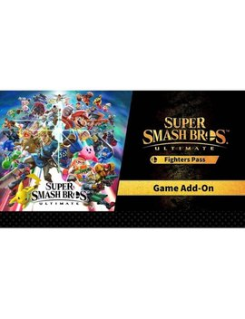 Nintendo Switch [Digital] by Super Smash Bros. Ultimate Fighter Pass
