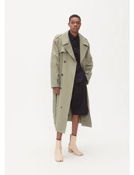 Belted Trench Coat by Maison Margiela