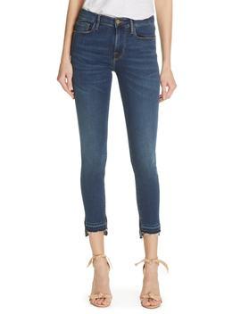 Le Skinny De Jeanne Release Hem Ankle Skinny Jeans by Frame