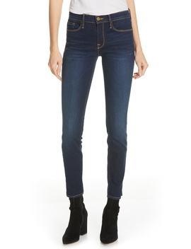 Le Skinny De Jeanne Rivet Ankle Skinny Jeans by Frame