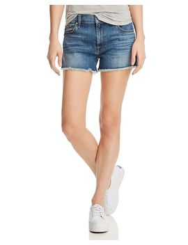 High Rise Vintage Cutoff Jeans In Primm Valley by 7 For All Mankind