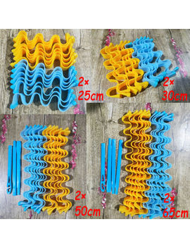 Water Wave Magic Curlers Formers Leverage Spiral Hairdressing Tool 25 65cm 24pcs by Ebay Seller