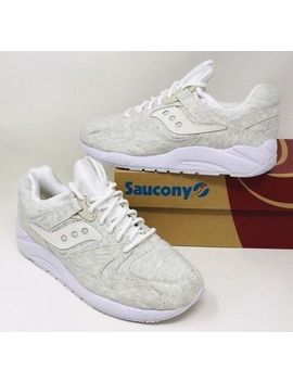 Saucony Men Grid 9000 Ht White Blanc Pick A Size by Saucony