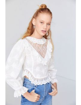 House Of Sunny Ruffle Prairie Top by House Of Sunny