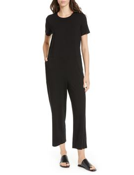 Stretch Tencel® Lyocell Jumpsuit by Eileen Fisher