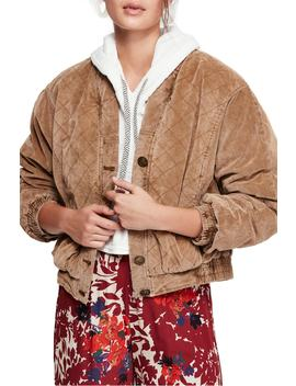 Main Squeeze Quilted Jacket by Free People