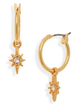 Burst Hoop Earrings by Uncommon James By Kristin Cavallari