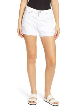 Hailey Boyfriend Cutoff Denim Shorts by Ag
