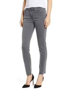 Prima Raw Hem Ankle Skinny Jeans by Ag