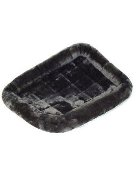 Midwest Quiet Time Gray 18 Inch L X 12 Inch W Dog Bed. **Free Shipping** by Mid West