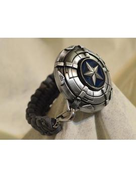 Captain America Winter Soldier Shield  Paracord Bracelet by Etsy