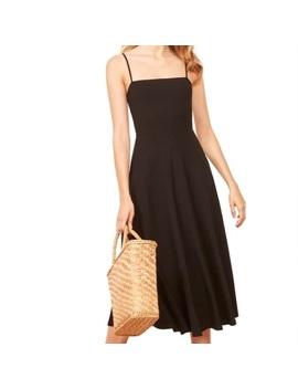 Reformation Bettie Dress In BlackNwt by Reformation