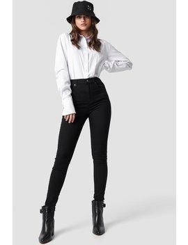 High Waist Super Skinny 5 Pocket Jeans by Na Kd Trend
