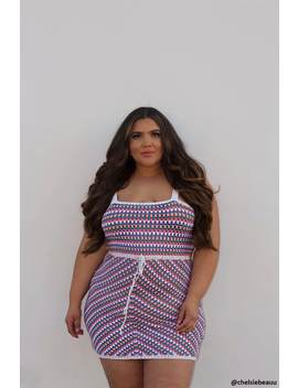 Plus Size Multicolor  Mini Dress by Forever 21