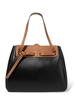 Ruk Two Tone Leather Tote by Loewe