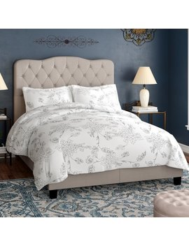 Dash Upholstered Platform Bed by Andover Mills